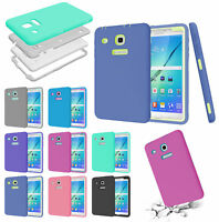 Shockproof Rubber Defender Case Cover For Samsung Galaxy Tab E 8.0 T377 T378V