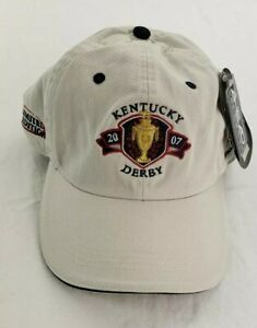 NEW Kentucky Derby Hat Cap 2007 AHEAD Limited Edition Gold Cup 133 NWT
