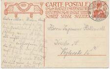 "CH ""LUZERN 5 / FIL. RÖSSLIGASSE"" selt. K2 10 C Helvetia UPU-Sonder-GA-Postkarte"