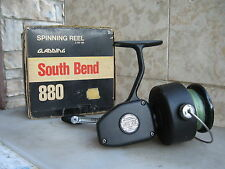 An Used South Bend 880 Saltwater Spinning Reel in box . MADE IN USA .