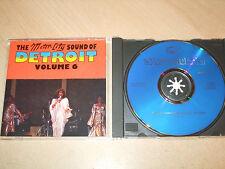 Motorcity Sound Of Detroit . 6 (CD) 16 Detroit Classics - Nr Mint - Fast Postage