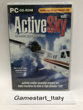 ACTIVE SKY WXRE - PC COMPUTER - ADD ON ESPANSIONE FLIGHT SIMULATOR 2002 NUOVO