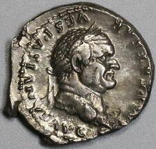 75 AD Roman Empire Vespasian Denarius Eagle NGC Genuine Pedigree (19071503R)