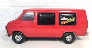 Ertl Chevy Canada Dry Canvan Advertising Van Ginger Ale Soda Pop