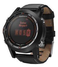 Garmin D2 GPS Aviation Pilot's Watch Black Leather Band REFURB Unit 010-N1040-30