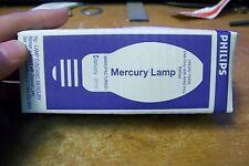 NOS Philips H43AV-75/DX 75 Watt HID Mercury Vapor Lamp Medium Coated Bulb