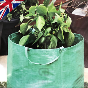 Strong Universal Garden Plant Vegetable Grow Bag With Handles Green  44x37cm
