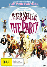 THE PARTY ( PETER SELLERS )  ( COMEDY) DVD BRAND NEW AND SEALED