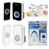 Wireless Doorbell Alarm Door Chime Bell Receiver Battery Safety Remote Portable