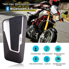 Bluetooth Moto Interphone Casque écouteur Motorcycle Helmet Intercom Oreillette