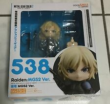 Authentic Nendoroid Raiden Metal Gear Solid Ships from US FAST SHIP Good Smile