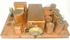 vintage * KENNEDY MODEL 20 RADIO part: UNTESTED CHASSIS WITH  TUBES