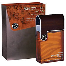 Skin Couture Wood, Eau de Toilette EdT Aftershave Spray by Sterling Armaf, 100ml