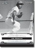 50) JOE MORGAN - Cincinnati Reds - 2012 Leaf National PROMOTIONAL Card LOT
