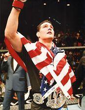 Chris Weidman UFC 11x14 Photo Picture w/ Belt 187 175 168 162 139 131 on Fox 2 1