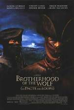 Brotherhood of the Wolf Double Sided Original Movie Poster 27x40 inches