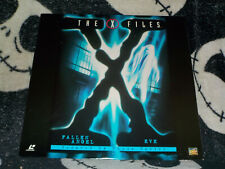 X-Files Fallen Angel/ Eve Laserdisc LD Free Ship $30