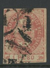 GN STAMPS- COLOMBIA, USED, #42, 4 MARGINS