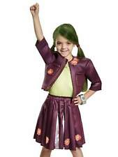 Disney Zombies Toddler Girls Zoey Costume Jacket Skirt & Z-Band 3T-4T