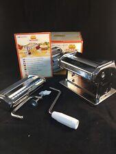 Marcato Atlas 150 Pasta Machine Made In Italy Complete Used In Box Spaghetti