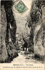 CPA  Montaud - Une Gorge  (630112)
