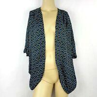 NORDSTROM MIMI CHICA new sheer flowy kimono cardigan jacket shrug Womens Medium
