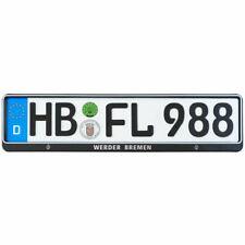 SV Werder Bremen Kennzeichenverstärker Nummernschildhalter 1 Stück Fanartikel