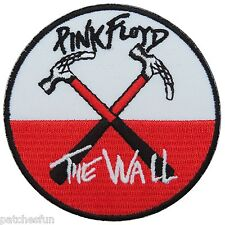 Pink Floyd The Wall Hammers Sew Embroidered Iron on Patch Shirt Vest Jacket M017