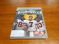 All-Pro Football 2K8 (Sony PlayStation 3, 2007) PS3 CIB Complete TESTED