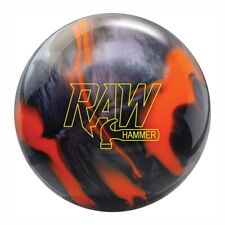Hammer Raw Hammer Orange/Black Bowling Ball
