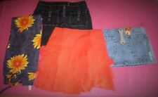 LOT VETEMENT PRINTEMPS ETE-JUPE CAMAIEU-JEANS- PAREO-FILLE- T.14 ANS-T.34/36