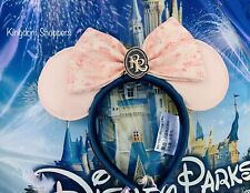 New listing 2021 Disney Parks Riviera Resort Minnie Mouse Loungefly Ears Pink & Blue