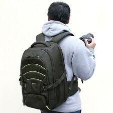 Large DSLR Camera Case Bag Backpack For Sony Alpha A77 II a7S a7R A7 II A58 A99