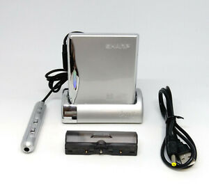 Sharp MD-DS55-S Portable MiniDisc MD player w/ Stand *Works*