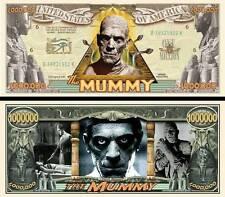 LA MOMIE Billet MILLION DOLLAR US ! BORIS KARLOFF The Mummy 1932 Cinéma Horreur