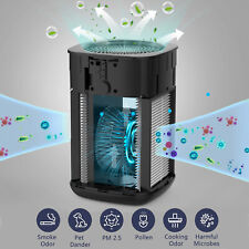 Air Purifier for Smoke H13 Hepa Home Air Cleaner Allergies Eliminator Remover