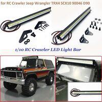 Super Bright Roof Lamp 36 LED Light Bar for 1/10 RC Crawler TRX4 SCX10 90046 D90