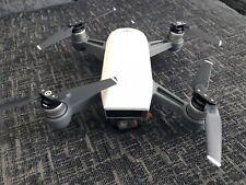 dji spark fly more combo alpine white + extras