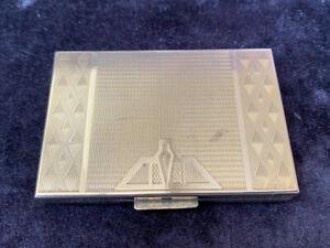 Art Deco 'Zenette'  Powder Compact
