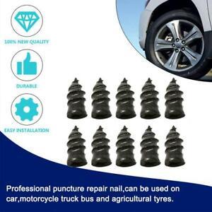 10xTubeless Tyre Repair Rubber Nail Vacuum Tyre Repair Nail For Motorcycle Cars