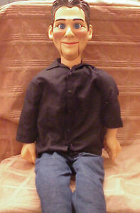 "LITTLE JEFF DUNHAM - 30"" Ventriloquist Dummy Puppet Doll - Rare NECA with Box"