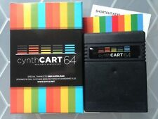 New >>  Commodore 64 cynthCART 64 v2 Analogue Synthesizer with Midi Support