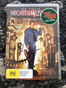 Night At the Museum DVD -- Region 4