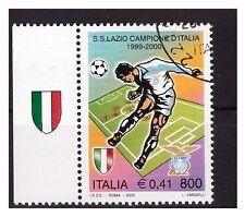 ITALIA 2000 - SCUDETTO  LAZIO  con appendice scudetto usato