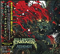 KILLSWITCH ENGAGE-ATONEMENT-JAPAN DIGIPAK CD Ltd/Ed F30