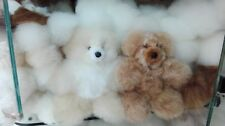 "Lot of 40 100% Baby Alpaca Fur Teddy Bear 7.5""  (FREE SHIPPING) WE HAVE STORE"