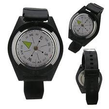 Portable Tactical Waterproof Digital Wrist Compass Survival Watch Strap Outdoor