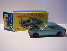 Matchbox 1-75 Regular Wheel Series Nr. 53C Ford Zodiac MK IV