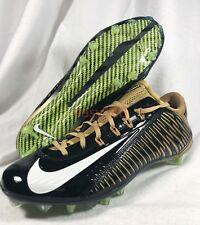 New Nike Vapor Carbon Elite Sz 12 Men VPR Flywire Cleats Football Gold 657441 46