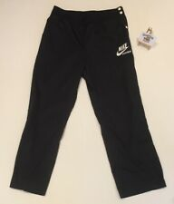 Mens NIKE Sportswear Button Tearaway Pants Trousers (L) 'RARE 90s VINTAGE RETRO'